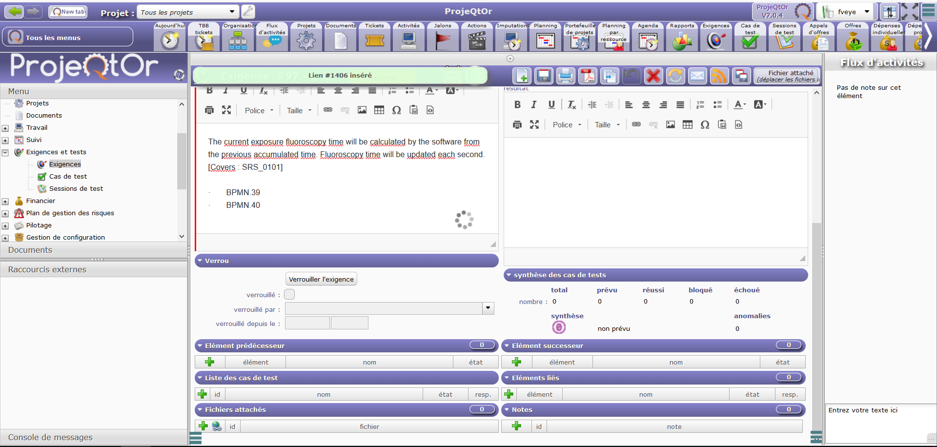 ProjeQtOr free project management software - [SOLVED