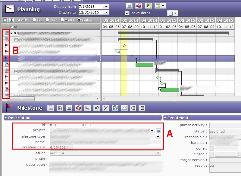 Projeqtor Free Project Management Software Access Rights To Gantt